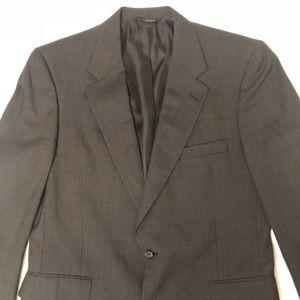 Jacobson's Burberry Charcoal 2pc Suit.  44R 36x31